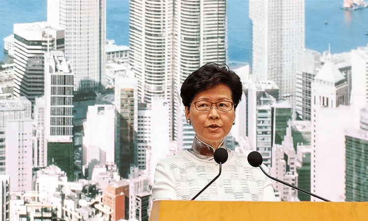Hong Kong: Responsibility lies with govt, says Carrie Lam