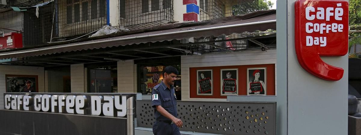 Cafe Coffee Day share price plunges