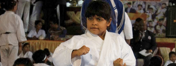 Arinjeeta Dey  from Bengal wins medal for India in World Karate Championship in Croatia