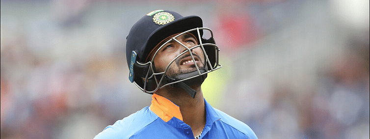 Kevin Pietersen slams Rishabh Pant's shot selection