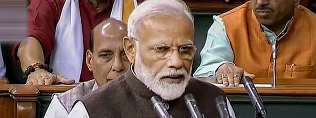 PM chairs BJP Parliamentary Party meet
