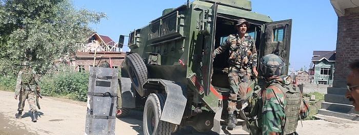Security forces launch srarch in Kashmir's Kulgam