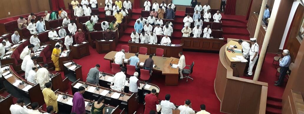 Opposition paralyse Odisha Assembly over sexual abuse of minor girls