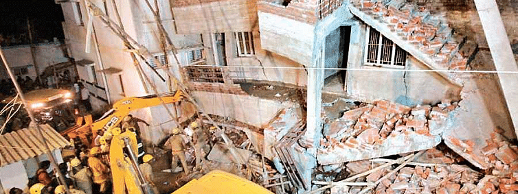 Building collapse: Death toll mounts to 4