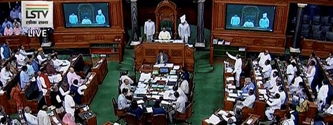 DMK members raise Lt Governor Bedi's controversial remarks in LS