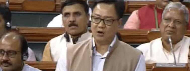 No dearth of funds for sports, says Rijiju