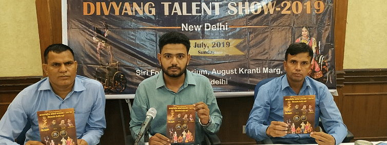 Talent show for Divyangs on July 14 in Delhi