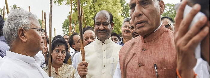 Birla urges lawmakers to take Swachhata Abhiyan zeal to villages
