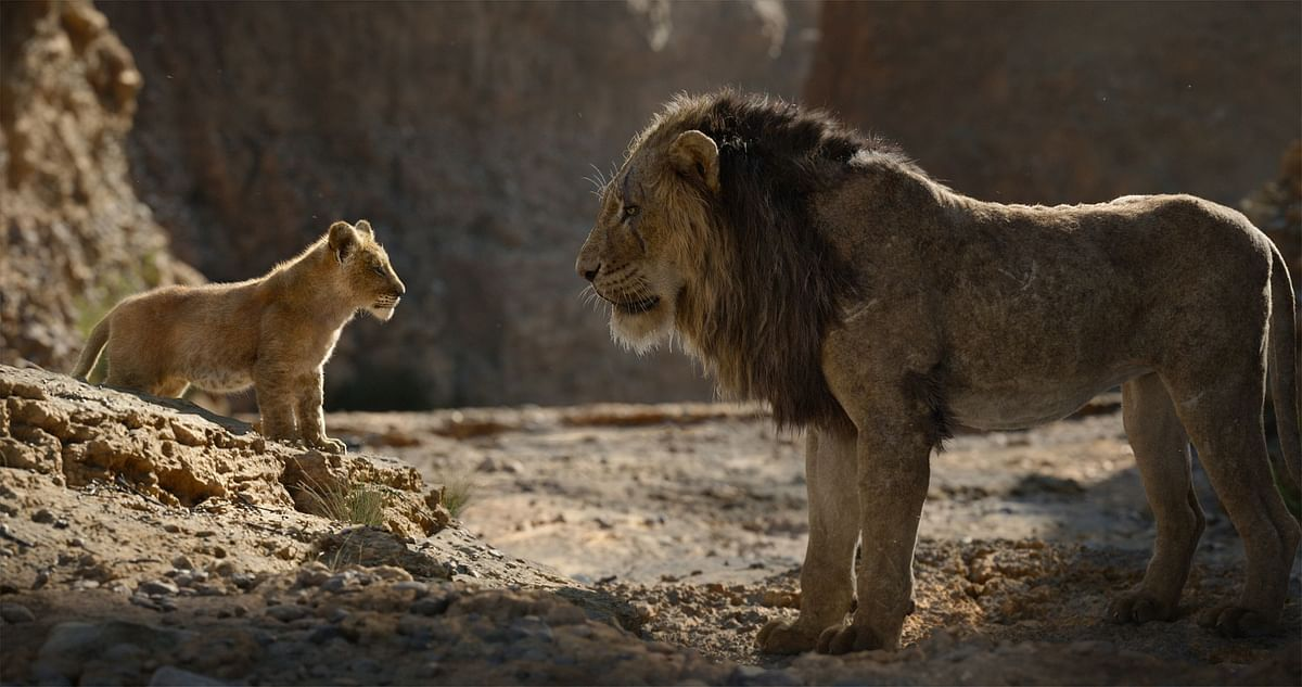 THE LION KING: GORGEOUS BUT NOT AS POWERFUL !