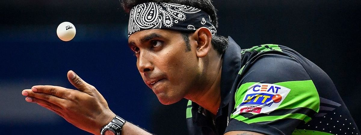 Sharath & party favourites in Commonwealth Table Tennis Championships