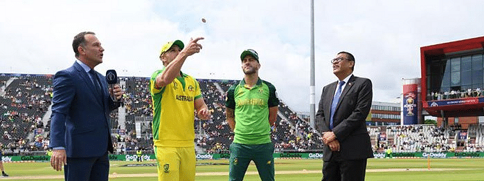 South Africa win toss, opt to bat against Australia