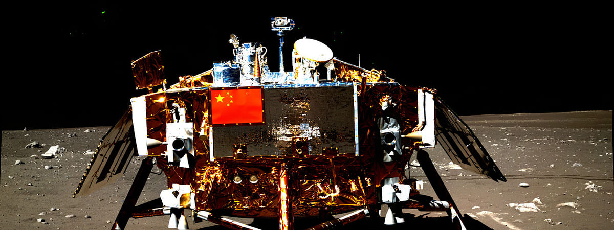 Chinese moon lander, rover awakes for eight lunar workday
