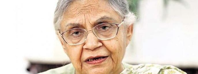 Thousands pay tributes to Sheila Dikshit at AICC Headquarters