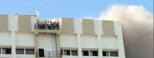 Fire breaks out in Bandra MTNL office, around 100 trapped