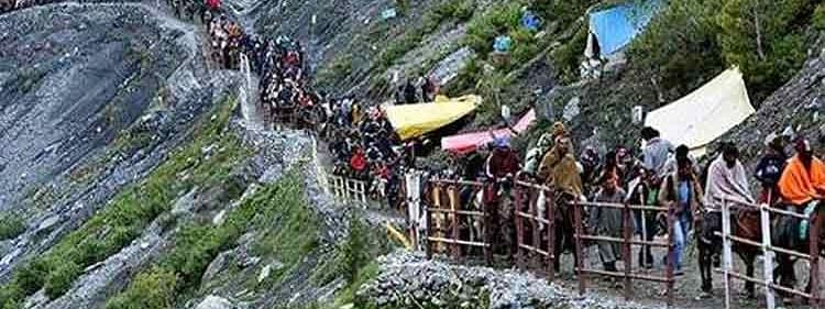 Second batch of 4417 pilgrims leave for Amarnath