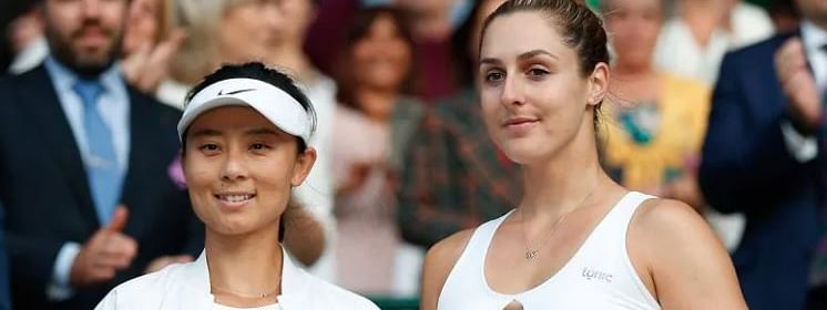 China's Xu makes career best, but misses Wimbledon doubles trophy