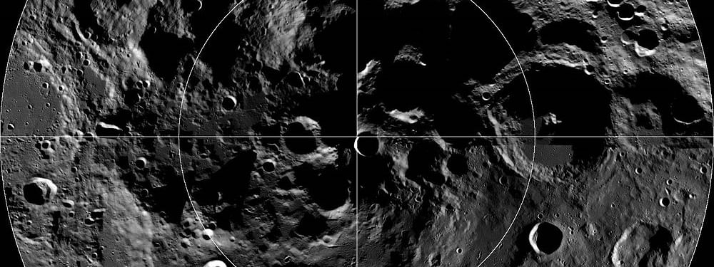Moon's South Polar region : A journey unlike any other