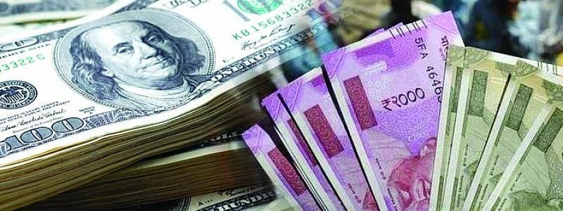 Rupee dips 19 paise against USD
