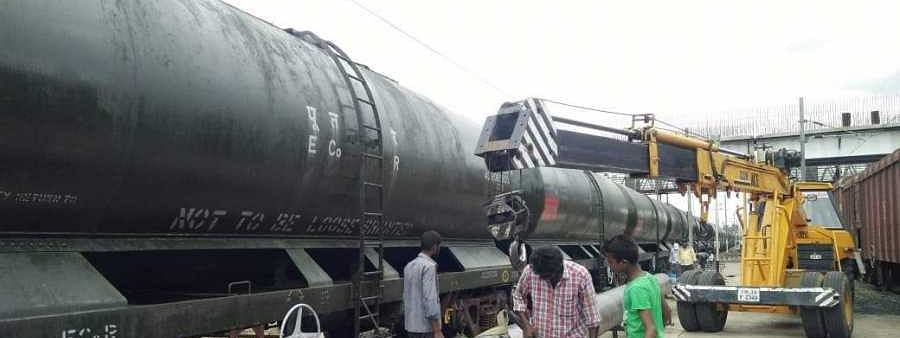 Water train brings relief to Chennai