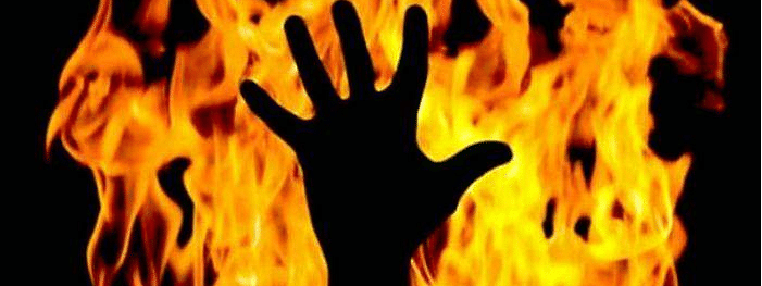 Law student set on fire by estranged lover