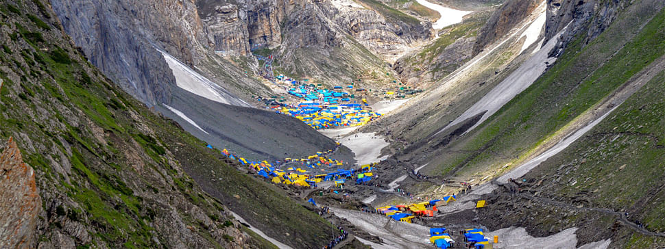 Yatra continues from base camps, 97,000 have darshan so far