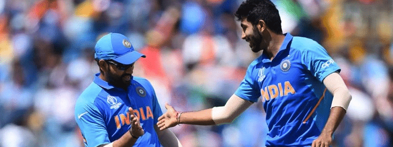 Rohit, Bumrah find place in ICC World Cup 2019 team
