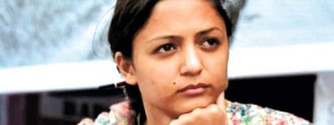 SC lawyer seeks arrest of  Shehla Rashid for spreading fake news on Kashmir