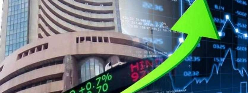 Sensex up by 38.80 pts