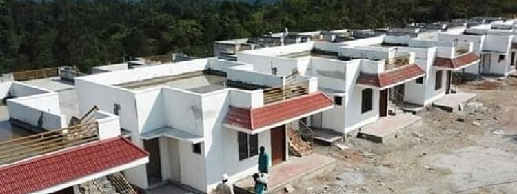 New houses being built for flood affected in Kodagu