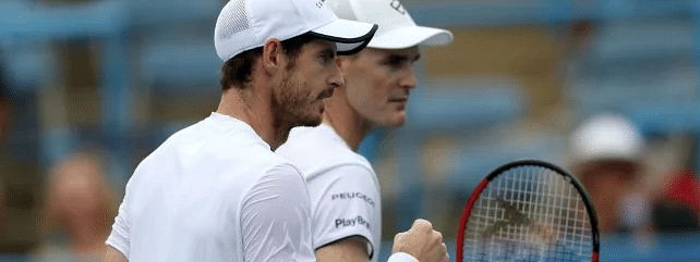 Murray brothers wins in men's doubles at Washington Open