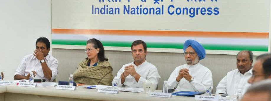 Congress divided, isolated over Article 370