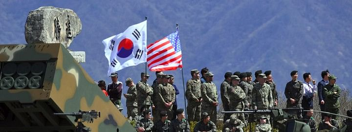 South Korea has acceded to pay more for US military protection, claims Trump