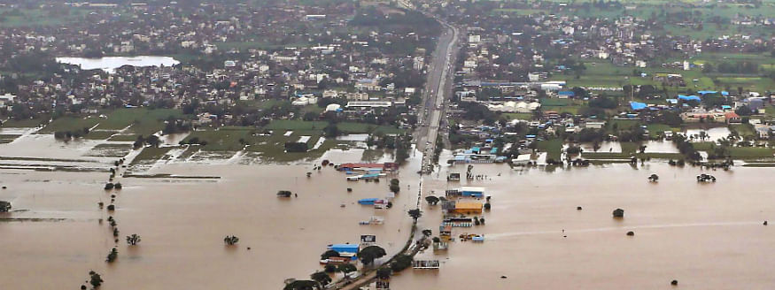 Central team begins survey of flood affected areas in Karnataka