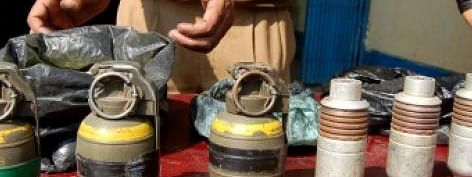 Explosive materials seized on terrorist`s tip-off in Gaya