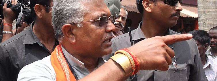Terror threat to BJP leader Dilip Ghosh', security upgraded to Z category status