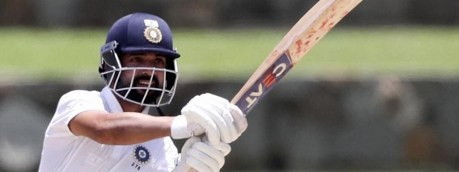 Ind Vs WI test: Rahane 81 helps India finish at 203/6 on Day 1
