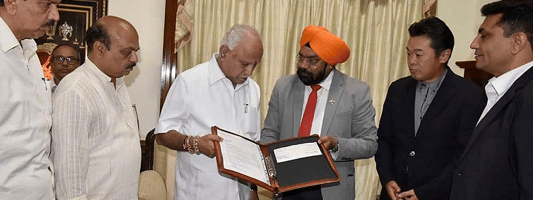 Honda 2 Wheelers India donates Rs One Cr for flood relief