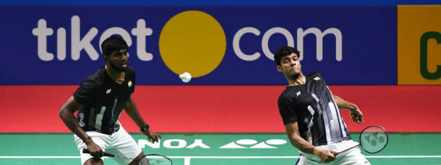 Thailand Open: Rankireddy-Chirag in doubles semi, Praneeth out
