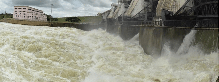 Kabini River in spate, 1.25 lakh water discharged from dam