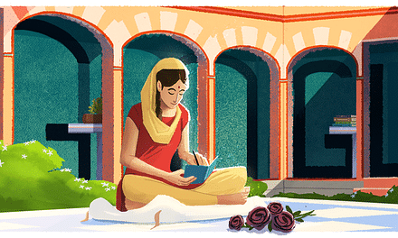 Google celebrates 100th birth anniversary of Amrita Pritam
