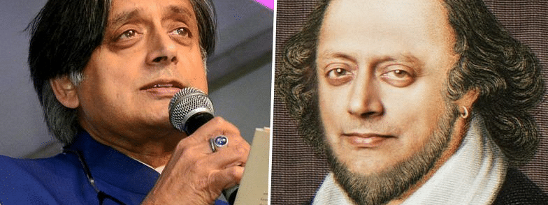 All eyes on Shashi Tharoor's morphed Shakespeare face