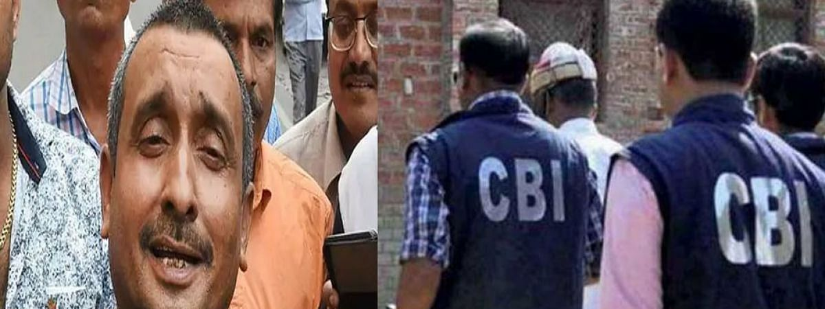 Unnao case: CBI raids Sengar's house