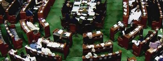 JD(U) opposes J&K Bill, walks out of LS