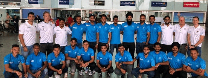 Indian men's and women's hockey teams leave for Olympic Test Event