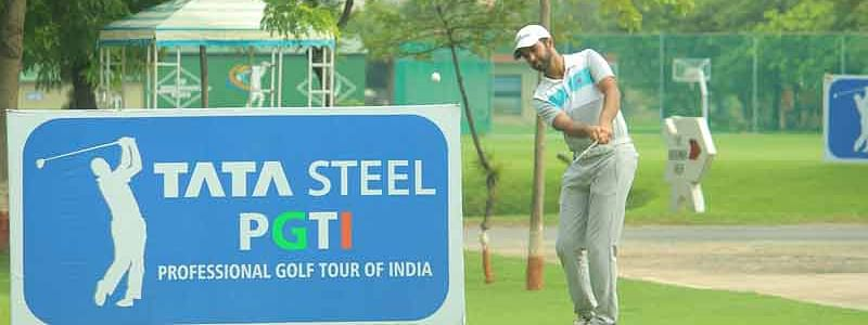 Dhruv Sheoran gets off to a flying start to grab the first round lead at Madhuban Meadows