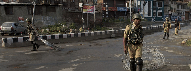 Curfew in Kashmir hits normal life again