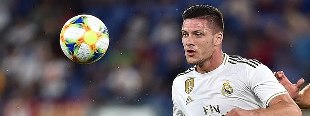 Real Madrid striker Jovic laughs off loan rumors