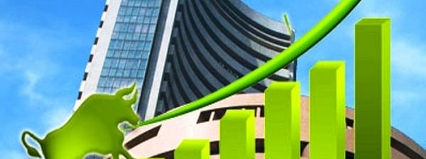 Sensex up by 41 pts