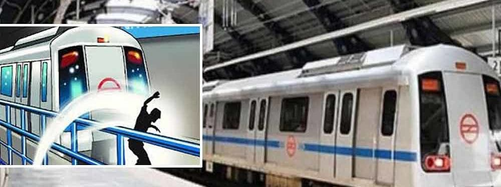 27-yr-old man allegedly commits suicide by jumping in front of metro in Delhi