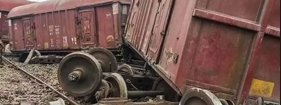 Goods train derails near Rampur; rail services disrupted